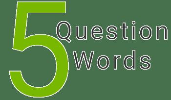 5 Question Words help you to write rock lyrics