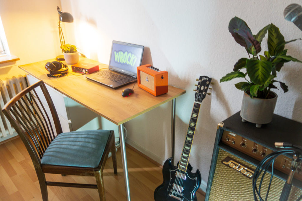 Songwriting Guitar and Recording room