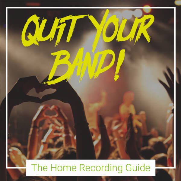 The home recording guide explains how you can record your own songs