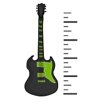 Die richtige Gitarrengröße