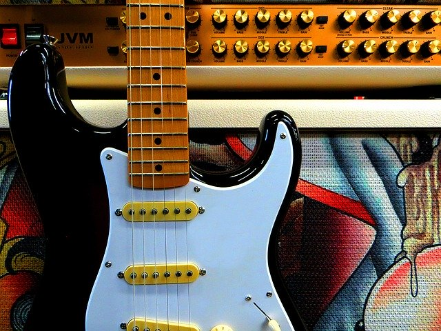 Fender Stratocaster E-Gitarre