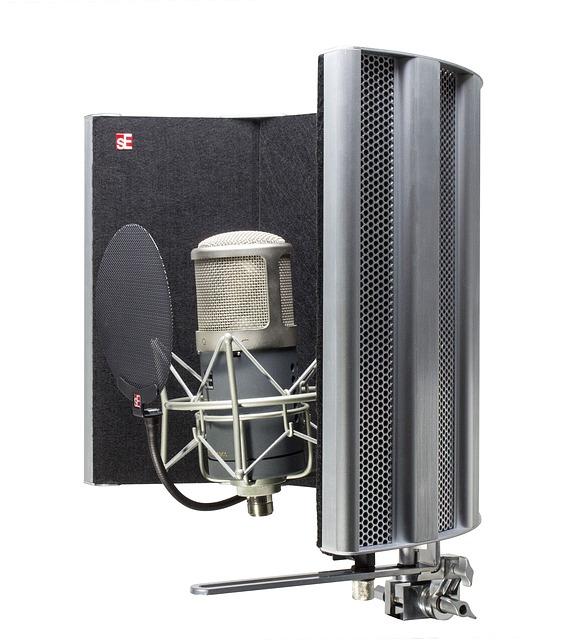 Kondensatormikrofon zum aufnehmen