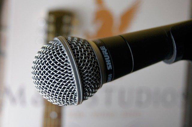 Dynamisches Mikrofon zum aufnehmen
