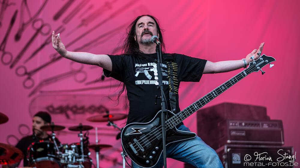 Carcass die Death Metal Band aus England
